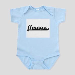 Amaya Classic Retro Name Design Body Suit