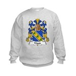 Viaud Family Crest Kids Sweatshirt