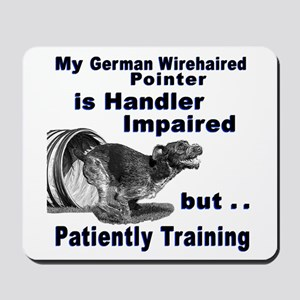 German Wirehd Pointer Agil Mousepad
