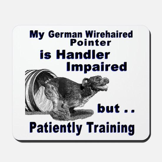 German Wirehd Pointer Agil Mousepad