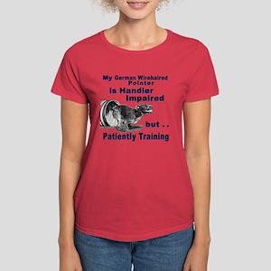 German Wirehd Pointer Agil Women's Dark T-Shirt