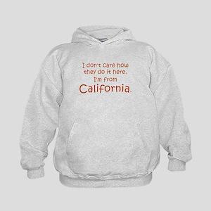 From California Kids Hoodie