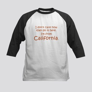 From California Kids Baseball Jersey
