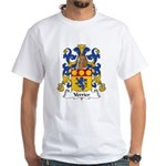 Verrier Family Crest White T-Shirt