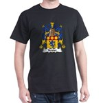 Verrier Family Crest  Dark T-Shirt
