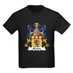 Verrier Family Crest  Kids Dark T-Shirt