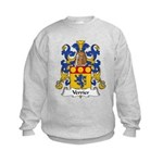 Verrier Family Crest  Kids Sweatshirt