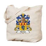 Verrier Family Crest  Tote Bag