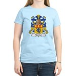 Verrier Family Crest  Women's Light T-Shirt