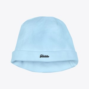 Alexa Classic Retro Name Design baby hat