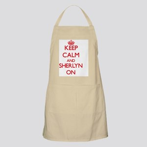 Keep Calm and Sherlyn ON Apron