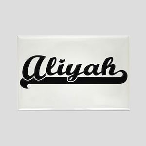 Aliyah Classic Retro Name Design Magnets