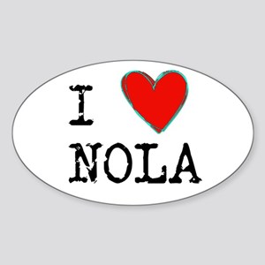 I Love NOLA Sticker