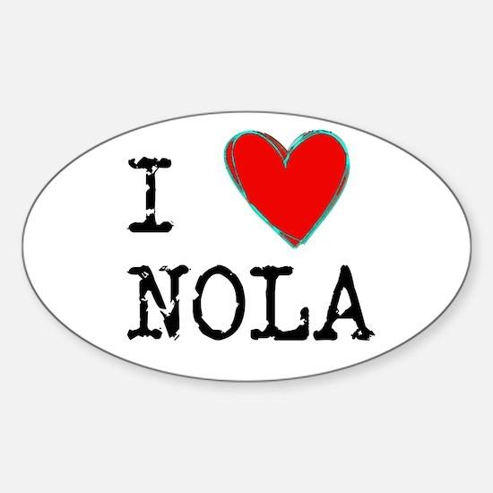 I Love NOLA Decal
