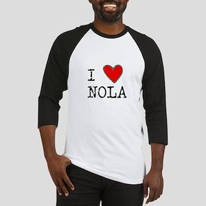 I Love NOLA Baseball Jersey