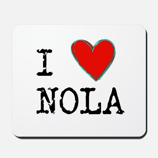 I Love NOLA Mousepad