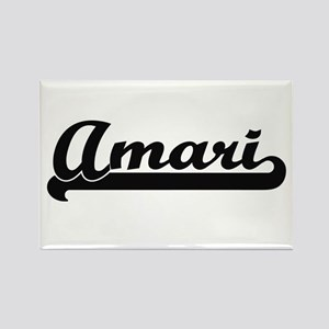 Amari Classic Retro Name Design Magnets