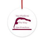 Gymnastics Ornament - Perform