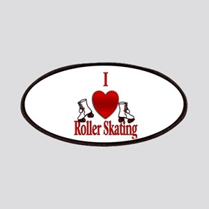 I Heart Roller Skating Patch