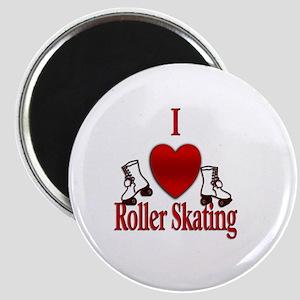 I Heart Roller Skating Magnets