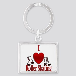 I Heart Roller Skating Keychains