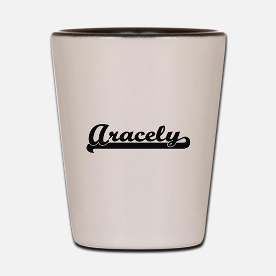 Aracely Classic Retro Name Design Shot Glass