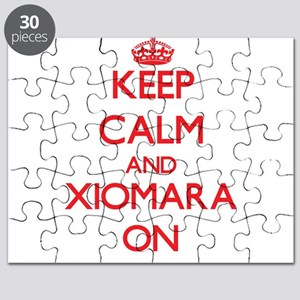 Keep Calm and Xiomara ON Puzzle