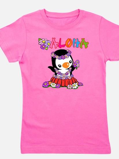 Aloha Penguin (6) Girl's Tee