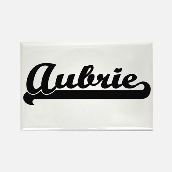 Aubrie Classic Retro Name Design Magnets