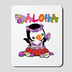 Aloha Penguin (6) Mousepad