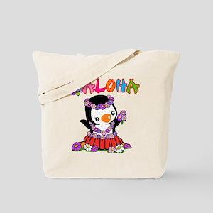Aloha Penguin (6) Tote Bag
