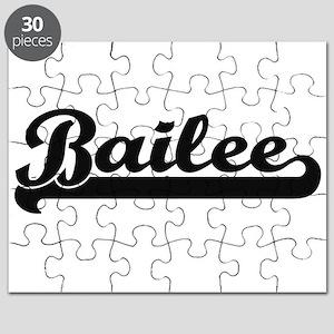 Bailee Classic Retro Name Design Puzzle