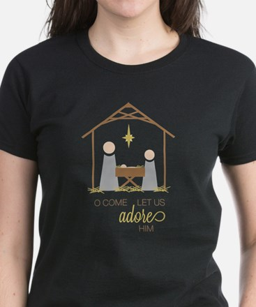Let Us Adore Him T-Shirt