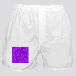 Moody Purple Abstract Art Boxer Shorts