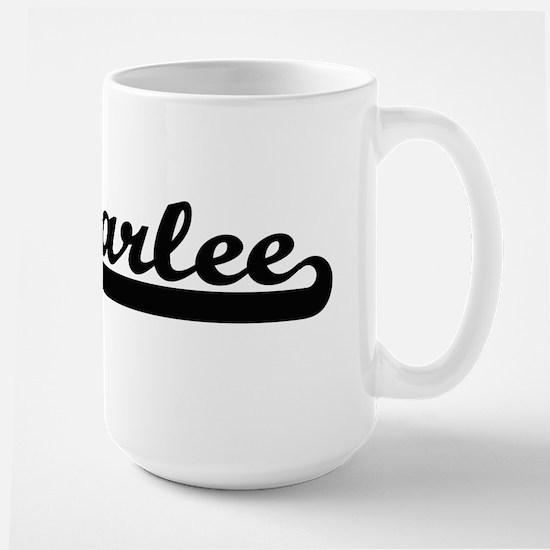 Carlee Classic Retro Name Design Mugs