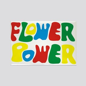 flowerPower Rectangle Magnet