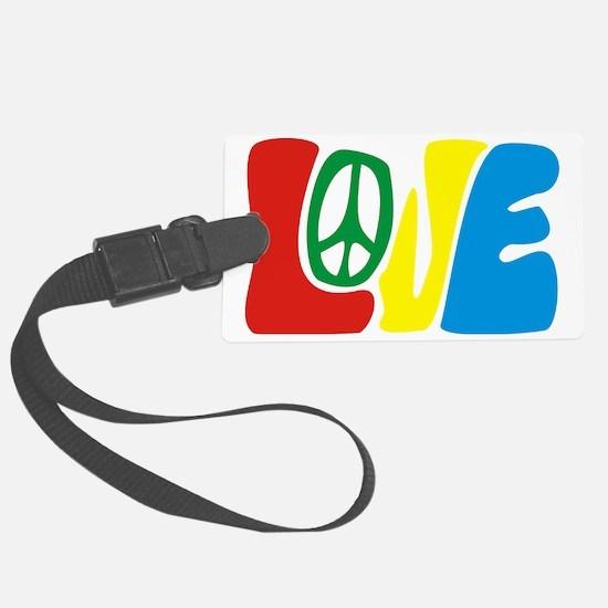 lovePeace Luggage Tag