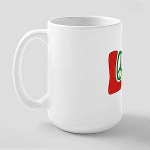 lovePeace Large Mug