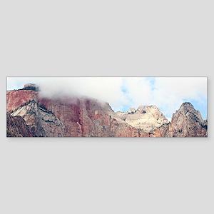 Zion National Park, Utah, USA 4 Bumper Sticker