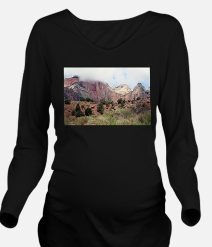 Zion National Park, Long Sleeve Maternity T-Shirt