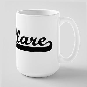 Clare Classic Retro Name Design Mugs