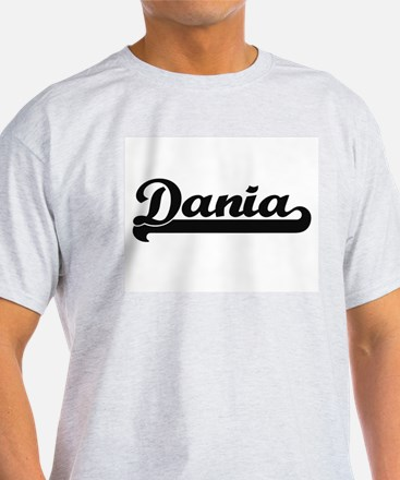 Dania Classic Retro Name Design T-Shirt