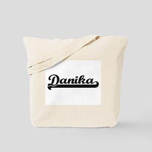Danika Classic Retro Name Design Tote Bag