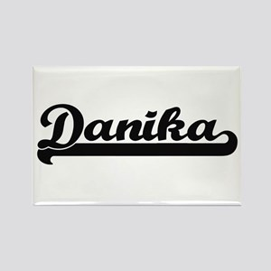 Danika Classic Retro Name Design Magnets