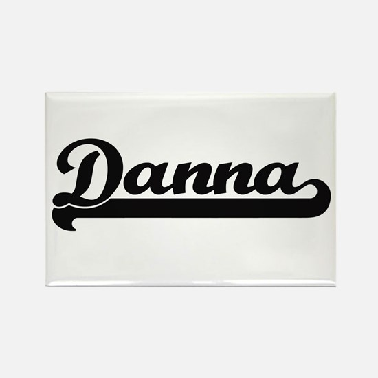 Danna Classic Retro Name Design Magnets
