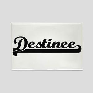 Destinee Classic Retro Name Design Magnets