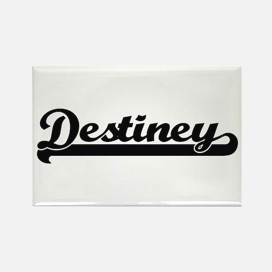 Destiney Classic Retro Name Design Magnets