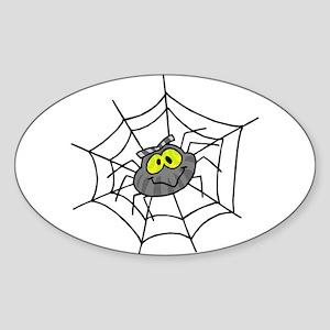 Little Spider Oval Sticker