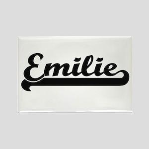 Emilie Classic Retro Name Design Magnets