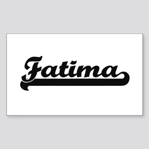 Fatima Classic Retro Name Design Sticker